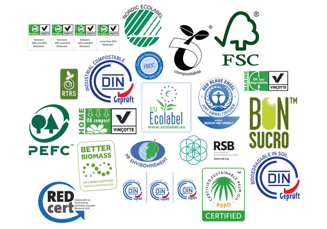 certifications and labels for bio-based and biodegradable materials for the European market