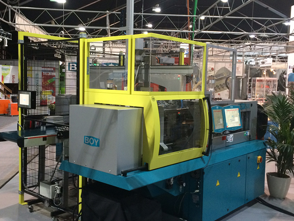 BOY injection moulding machines at Swiss plastics
